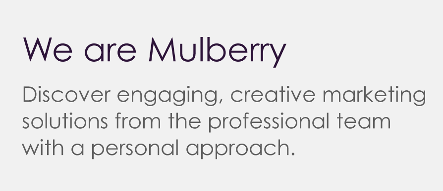 Mulberry Advertising – Creative marketing agency