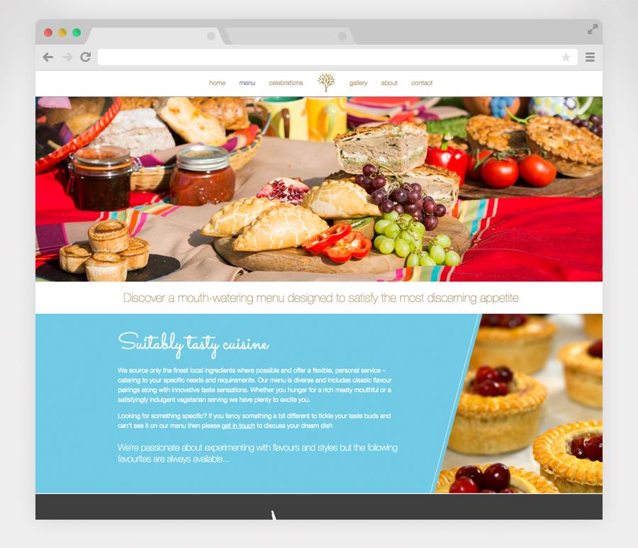 Website-menu-page